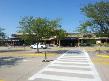 foto van rappid airport